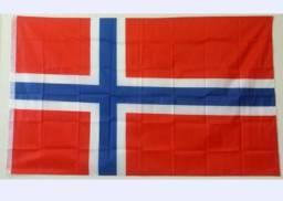 Bandeira Flag Norueguesa Noruega Poliéster 90x150 Cm País 4541fb58b38d2