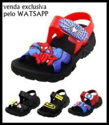b88bcbcd37 Sandália Infantil Papete de Super Heróis