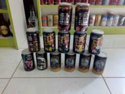 Pitu latas comemorativas colecionáveis