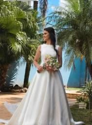 Vestido de noiva usado 1 x