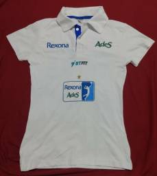 Camisa de vôlei feminino Rexona rio de janeiro