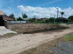 Terreno lindíssimo de esquina em Barra do Sul a 100metros do Hospital aceito carro ou moto