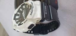 Relógio Casio G-Shock G-Lide Branco/Preto - GAX-100B-7A original