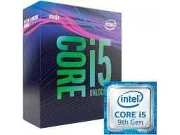Processador Intel Core i5 9600K NF e Garantia