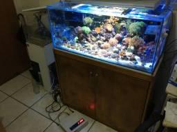 Luminária para Aquario marinho 165w