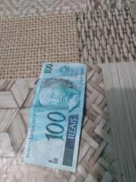 Nota Antiga de R$ 100 para você  que gosta de colecionar.