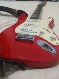 Guitarra Fender squier MINI ( SOMENTE VENDA )
