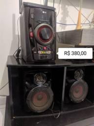 Vendo som LG novo por 380 reais