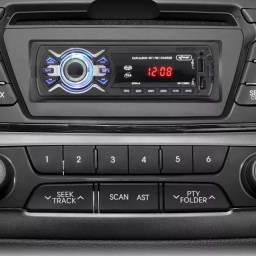 Auto Radio Automotivo Bluetooth Mp3 Knup (entrega grátis)