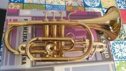 Trompete cornet Weril