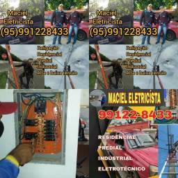 Título do anúncio: Eletricista MACIEL PROFISSIONAL RESIDÊNCIAL PREDIAL INDÚSTRIAL