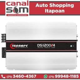 Título do anúncio: Módulo Amplificador Taramps TS1200x4 4 Canais 2 Ohms instalado na Canal Som