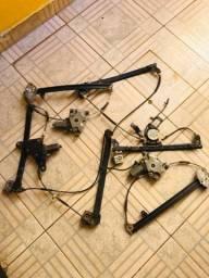 Jogo de máquinas do vidro elétrico do Gol G3 original de fábrica marca Bosch