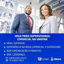 Título do anúncio: Vaga supervisor(a) comercial na Unopar