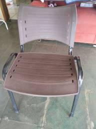 Cadeira de Escritório Marrom