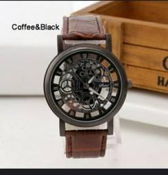Relógio Importado de couro