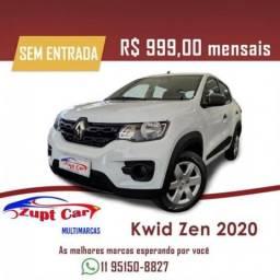Título do anúncio: Renault Kwid ZEN 1.0 FLEX 12V 5P MEC