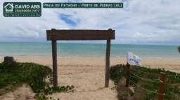 Lotes na Praia do Patacho, Porto de Pedras (AL) na Costa dos Corais.