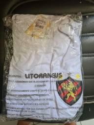 Camisa UV50+ Litoraneus emblema Sport Recife