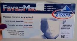 Título do anúncio: Máscara descartável tripla