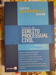 Título do anúncio: Manual de direito processual civil - 5ª edição de 2019  - Seminovo