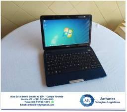 Netbook Acer Aspire 1410 - DDR 2 (4 Gb de Memória, HD 250 Gb)