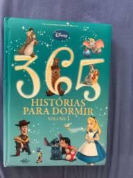 Livro 365 Histórias para dormir disney