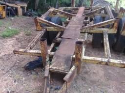 Título do anúncio: Carreta para remoção de madeira