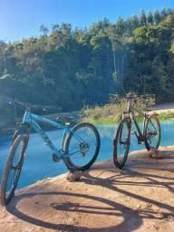Bicicleta aro29 a Azul .