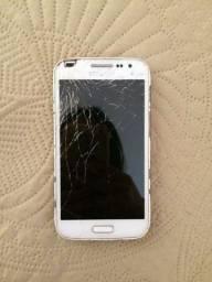 Samsung Galaxy Win 2 duos, tela trincada e não liga