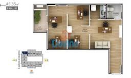 Título do anúncio: locação sala comercial boqueirão de praia grande - nova kinbor office - andar alto vista m