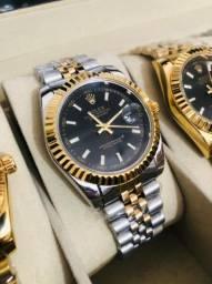 Relógio Rolex feminino detalhado