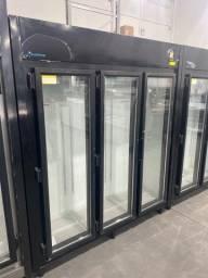 Título do anúncio: Vitrine refrigerada frios e laticínios 3 portas