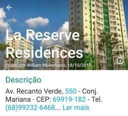 Título do anúncio: Alugo Apartamento no Condomínio Lar Reserve de 3 quatros
