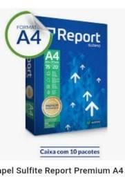 Título do anúncio: PAPEL A4 REPORT PREMIUM