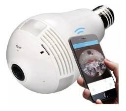 Título do anúncio: Lâmpada câmera 360º
