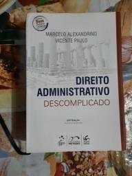 Título do anúncio: Livros de Direito Administrativo, Constitucional, Processo Civil e Vade Mecum - Seminovos