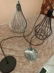 Título do anúncio: Luminárias e lâmpadas nunca usadas !!
