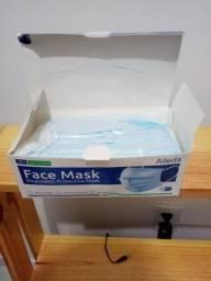 Título do anúncio: Máscara tripla descartável