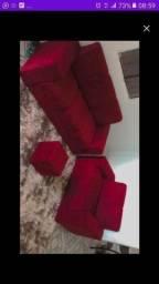 Título do anúncio: Sofa d fabrica cm entrega grátis hoje