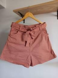 Título do anúncio: Short jeans com cinto jeans