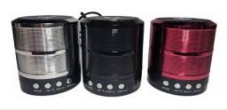 Caixa De Som Bluetooth Speaker Mini Caixinha Portatil Ws 887