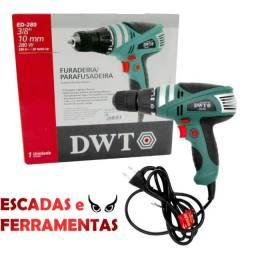 Título do anúncio: Parafusadeira/Furadeira DWT, Novo, Garantia, N. Fiscal