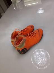 Chuteira Nike Mercurial X Superfly Laranja