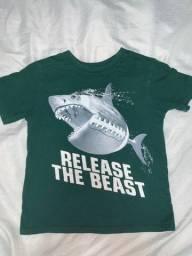 Título do anúncio: Camisa infantil 9anos