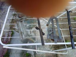 Máquina de vidro traseiro do corcel 73 77 com a guia