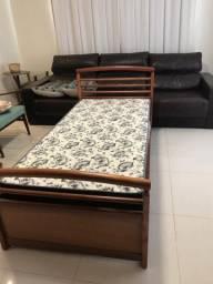 2 camas + 1 grade + 1 criado
