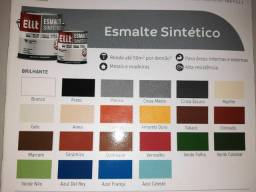 Liquida esmalte sintético 3,6 secagem rápida na Cuiabá tintas   .. imperdível!!!