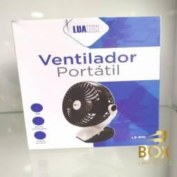 Título do anúncio: Mini Ventilador de Mesa Portatil 3 Velocidades Forte Com Presilha ls-910 - Pronta Entrega