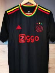 Camisa Ajax 2021 - Edição Bob Marley